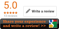 Share your experience and write a review!